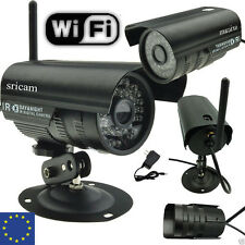 UK IP Network CCTV Security Camera Outdoor IR HD Wireless Waterproof free