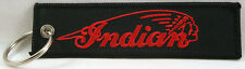 Indian Motorcycles Embroidered Key Chain, American