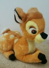 "DISNEY 11""BAMBI PLUSH TOY Vintage RARE 1990'S"