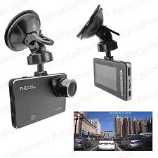 140° wide angle G-sensor car camera WDR Dual Core Camcorder 9mm Full HD 1080P
