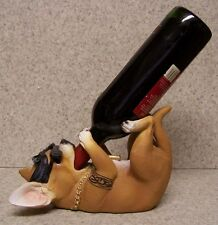 Wine Bottle Holder and/or Decorative Sculpture Dog Homey Chihuahua NIB
