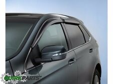 2015 2016 Ford Edge Side Window Deflectors Rain Guards OEM FT4Z18246A