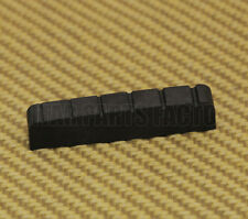 009-6769-000 Jackson SLA/PRO Black Graphite 6-String Slotted Guitar Top Nut