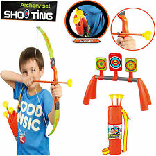 Kids Children Bow & Arrow Archery Set Toy Target Shooting Best Play Xmas Gift