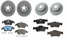 NEW Mercedes-Benz E350 2010-2015 Set of Front and Rear Brake Rotors and Pads