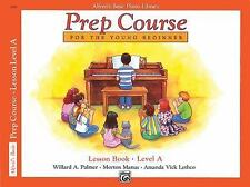 Alfred's Basic Piano Library: Prep Course Lesson Level A, Lethco, Manus, Morton,