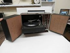 General Electric Vintage Portable Phonograph Record Player Stereo  T841  Works