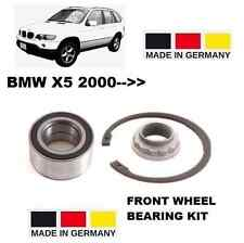 FOR BMW X5 SERIES E53 2000-- 3.0 4.4 4.6 4.8 4X4 IS FRONT WHEEL BEARING KIT
