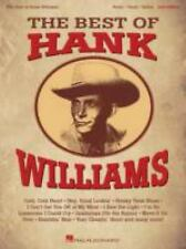 The Best of Hank Williams (Personality-Piano-Vocal-Guitar), Williams, Hank, New
