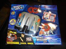 SPY GUY SECRET MISSION SET!!! LOOK AROUND BINOCULARS & ACCESSORIES! AGES 3+ NEW