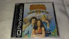 Duke of Hazzard Daisy Dukes It Out Playstation PS1 Video Game Used + extra case