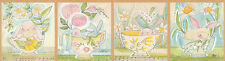"Blend Promise of Spring by Cori Dantini 113 01 1 Tea with Bunny 24"" Panel COTTON"