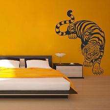 I204 Wall Decal Sticker tiger skin stripes animal lion cheetah leopard safari