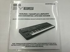 Yamaha SY85 - HXC CD-R setup for Gotek Floppy emulator 300+ disk img DSK