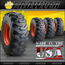 10x16.5 Trac Chief XT Skid Steer Tires and Wheels - Set of 4, Carlisle, Bobcat