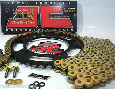 YAMAHA YZF R1 2006-08 JT Z1R GOLD X-Ring QUICK ACCEL CHAIN AND SPROCKETS KIT