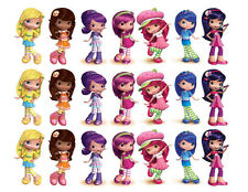 Strawberry Shortcake and friends edible cake strips cake topper decorations