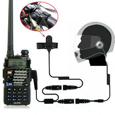Motorcycle Helmet Headset Earpiece for Baofeng UV5R BF888s H777 HYT TYT Radio