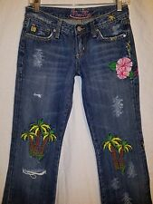 **RARE** MISS ME ALOHA JEANS SZ 271/2 X 32 Get them for spring break #139