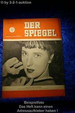 Der Spiegel 13/50 30.3.1950 Weltgeschichte als Rollenfach: Joana Maria Gorvin