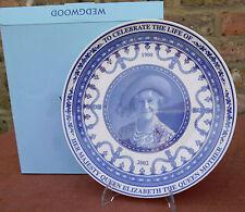 """Wedgwood  """"Queen Elizabeth the Queen Mother""""  Plate"""