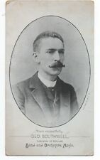 1890s Trade Card of George Southwell Publisher of Band & Orchestra Music