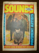 SOUNDS 1985 MAR 16 KANE GANG LONG RYDERS SONIC YOUTH