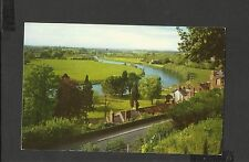 Vintage Colour Postcard View Horse Shoe Bend River Wye- Ross-on-Wye Posted 1969