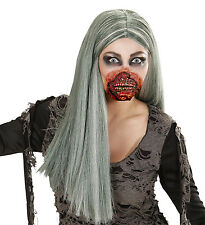 ZOMBIE MOUTH FACE MASK FANCY DRESS  FX HALLOWEEN BLOODY ELASTIC AND LATEX