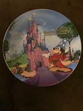 Euro Disney 1992 Opening Collectors Plate #1602 of 5000 Salute of the Parks
