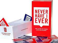 Never Have I Ever Card Game Party Board Game Birthday Christmas Gift CLEARANCE