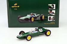 Lotus 24 #3 winner lombank Trophy Snetterton 1962 Clark 1:18 Spark
