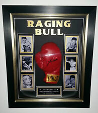 *** NEW Jake Lamotta SIGNED BOXING GLOVE Autograph  Display ***