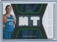 2008-09 SP Rookie Threads Kevin Love White Rookie Jersey Card