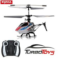 NEW - SYMA S800G 4CH RC MINI GYRO HELICOPTER - WHITE - AUS SELLER - RTF -
