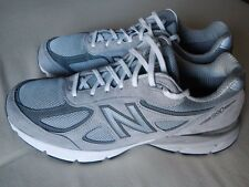 NEW BALANCE M990GL4 MEN'S RUN/WALK SHOE HERITAGE PIGSKIN/SUEDE SIZE 13 D GRAY