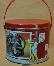 Metal Tin Can Box Container Gift With Lid Trails End Popcorn Art Contest Winners