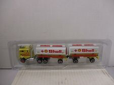 LOOSE 1/87 SCALE MAJORETTE SEMI SHELL DOUBLE TRAILER