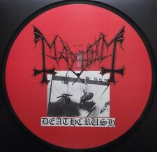 MAYHEM deathcrush LP first press on picture rare !!!  immortal darkthrone ulver