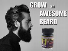 [NATURAL FACIAL HAIR GROWTH TREATMENT SERUM FAST GROW] MUSTACHE BEARD EYEBROW