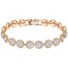 Swarovski 5240513 Angelic Bracelet Rose Gold, Length 17cm RRP$219