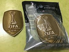 TOPPA PATCH INTER ORO TRIPLETE 2010 MONDIALE PER CLUB ORIGINALE SPORTING ID FIFA