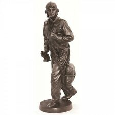 USN Pilot Pacific Theatre WW2 KHAKI ARMY Fly Boy 12inch Figurine/Statue