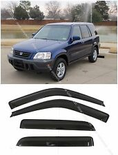 Window Visors Sun Rain Wind Deflector for Honda CRV CR-V 1997-2001