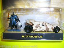 "Mattel HOT WHEELS BATMAN Camouflage ""BATMOBILE"" Die-Cast Action Figure 2 pack"