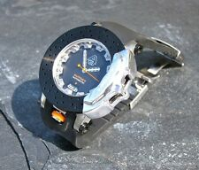 GENUINE AUTOart CARBON BLACK DISC SPORT CALIPER BRAKE ROTOR WATCH