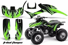 AMR Racing Honda TRX 300 Graphic Kit Wrap Quad Decal ATV 1993-2006 TRIBAL GREEN