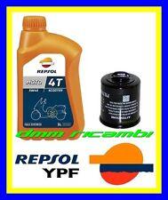 Kit Tagliando PIAGGIO BEVERLY 300 i.e. 09 10 Filtro Olio REPSOL 5W/40 2009 2010