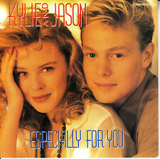 """KYLIE MINOGUE & JASON DONOVAN Especially For You PICTURE SLEEVE 45 rpm 7"""" record"""