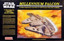 MILLENNIUM FALCON FINEMOLDS STAR WARS ORIGINAL 1:72 Scale Model Kit MINT